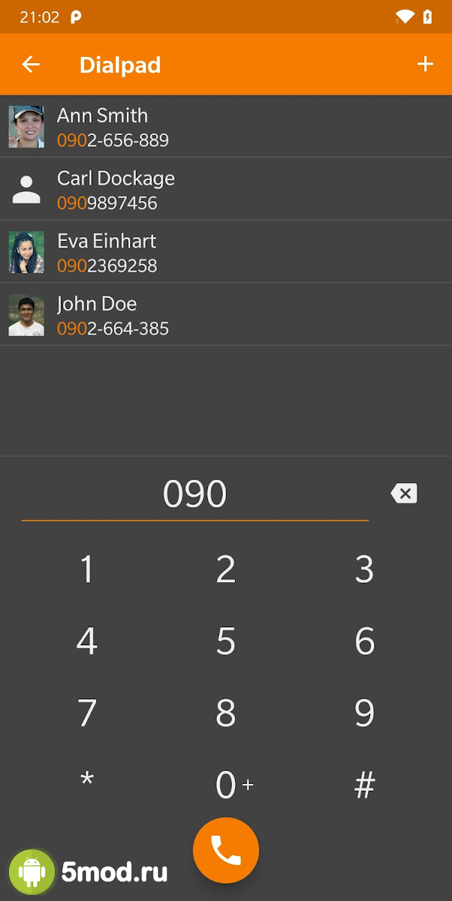 Simple contacts pro