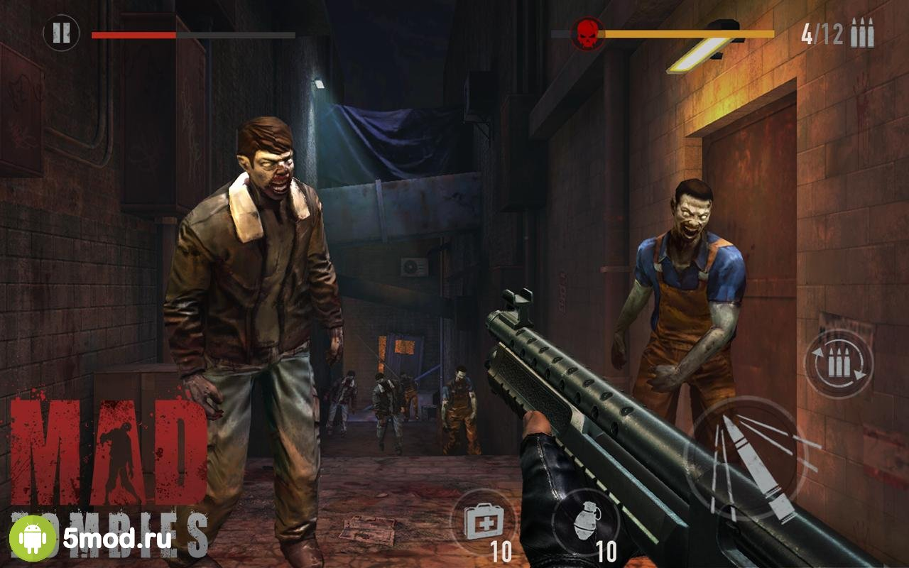MAD ZOMBIES: Offline Zombie Games