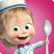 Masha and Bear: Cooking Dash