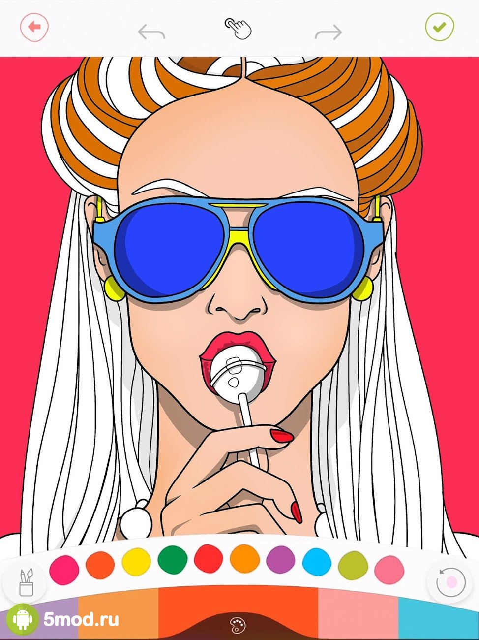 Colorfy: Coloring Book for Adults - Free