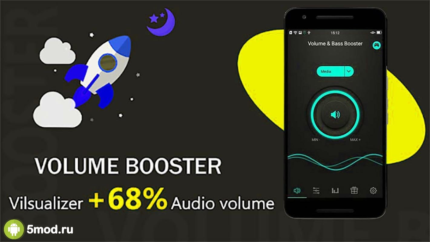 Super High Volume Booster Loud Speaker Booster