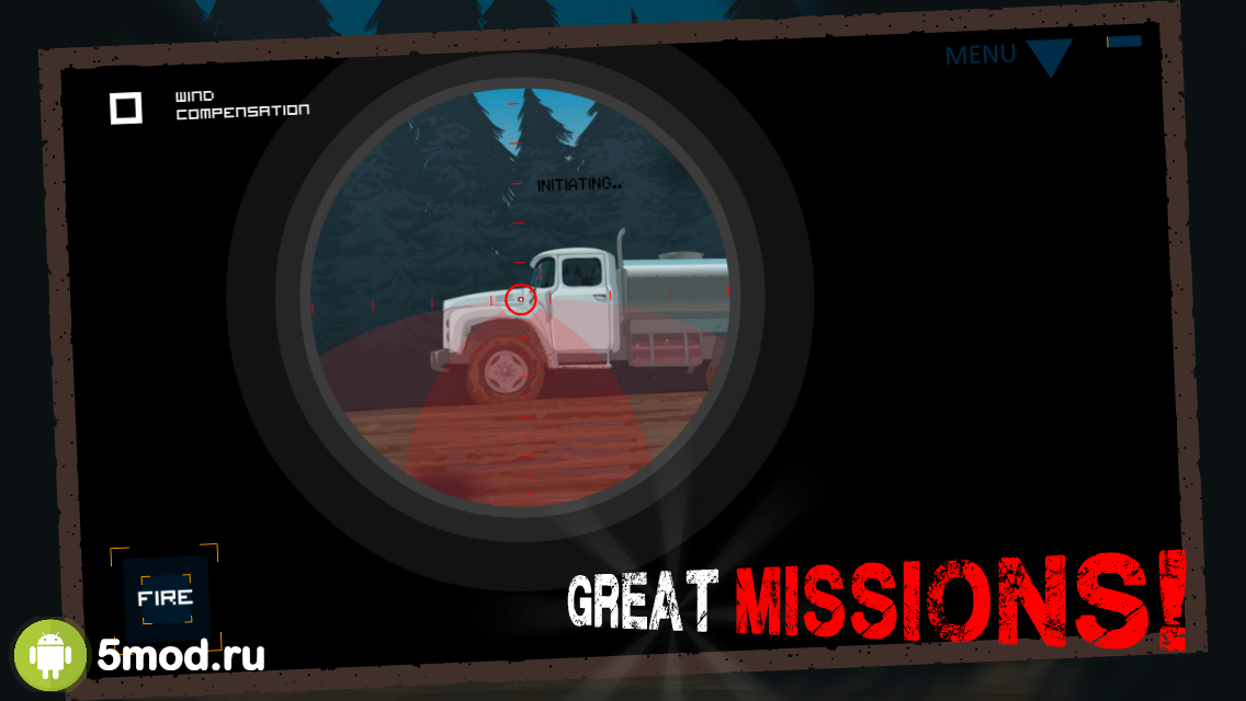 Clear Vision 3 - Sniper Shooting Game