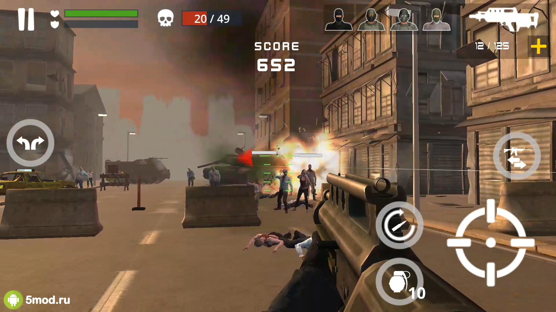Dead Zombie Battle: Zombie Defense Warfare