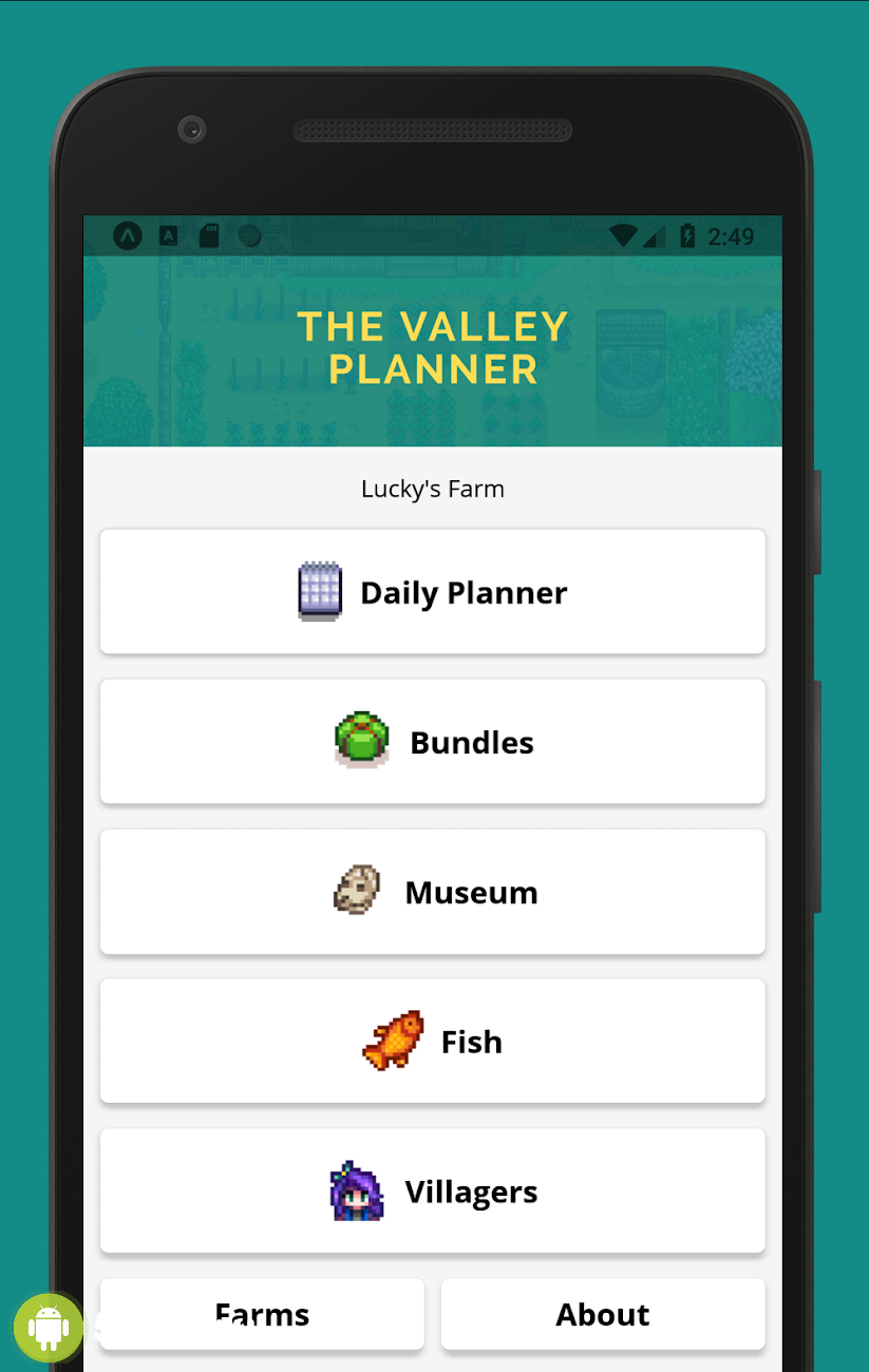 The valley planner