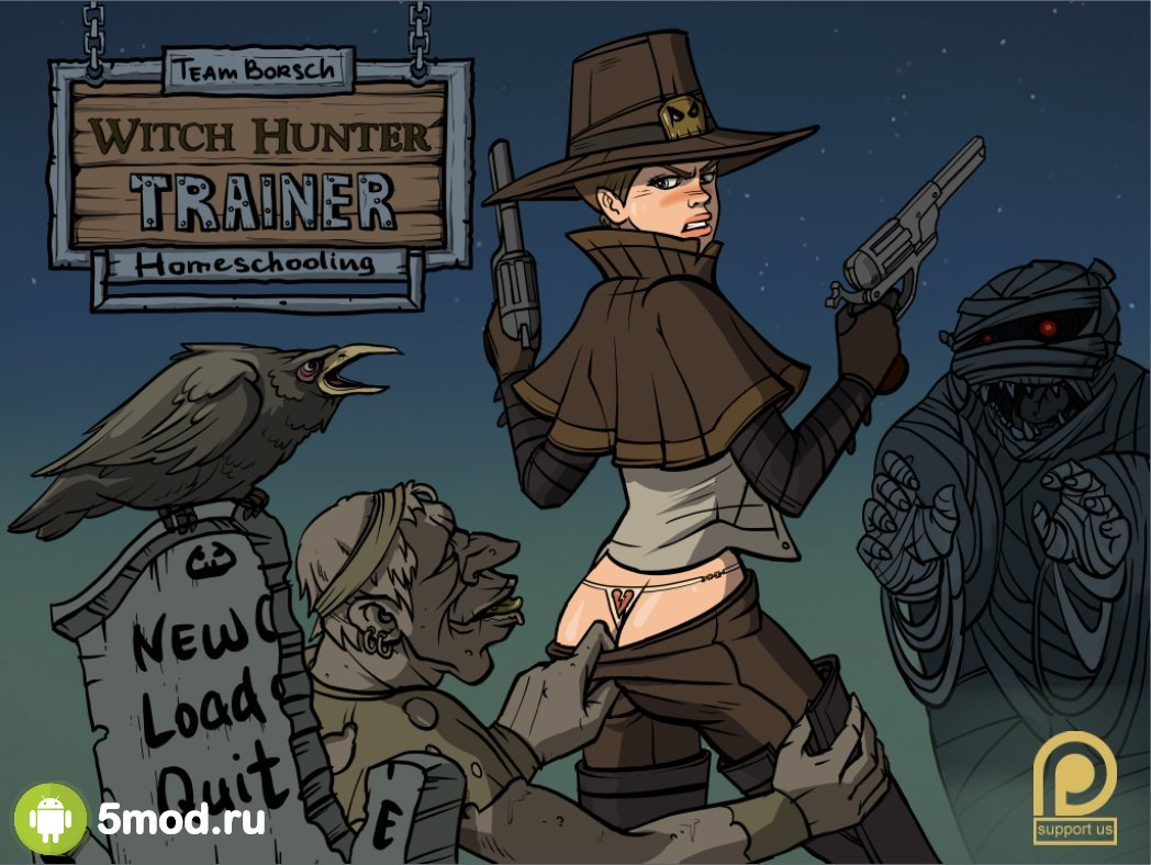 Witch Hunter Trainer (18+)