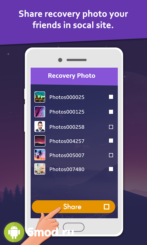Deleted Photo: Recovery & amp; Restore