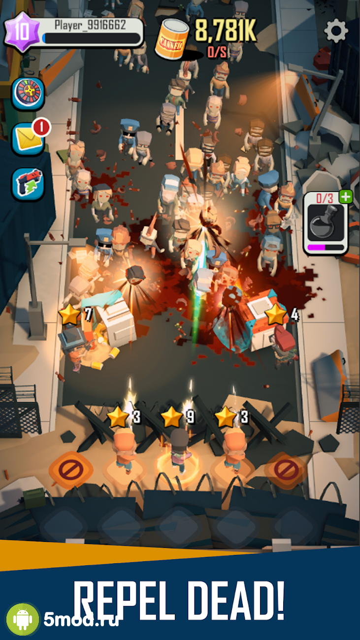 Dead Spreading: Idle Game