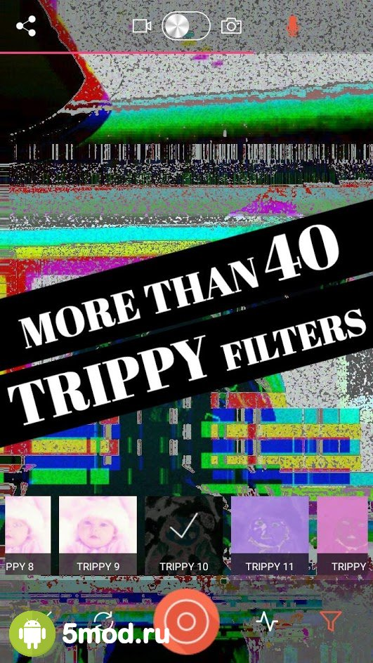 Glitch Video Effects-VHS Camera Aesthetic Filters