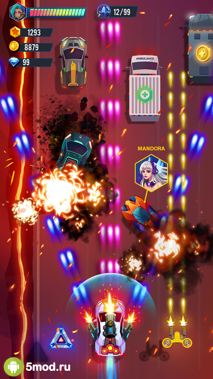 Road Rampage: Racing & amp; Shooting to revenge