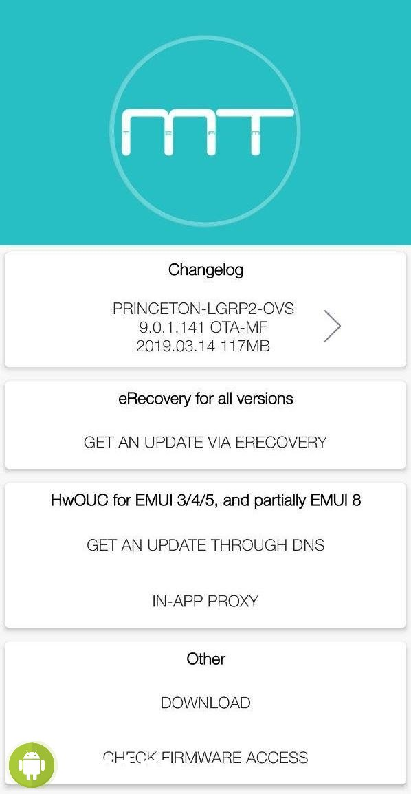 Firmware Finder for Huawei