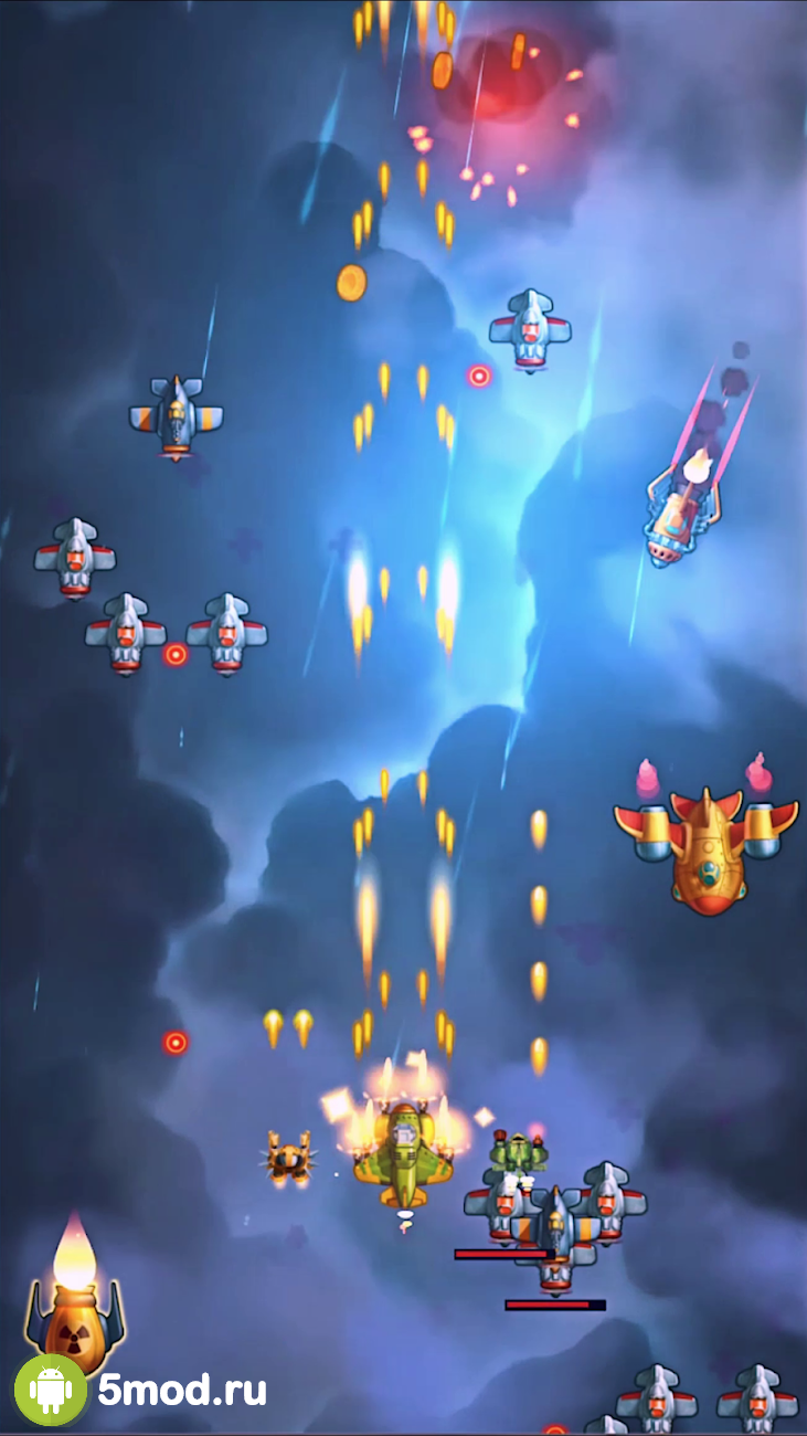 HAWK - Alien Arcade Shooter. Freedom squadron