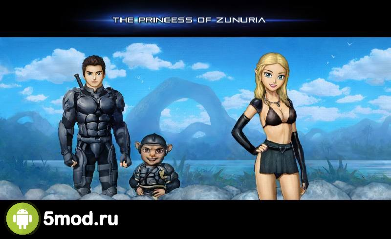 The Princess of Zunuria (18+)