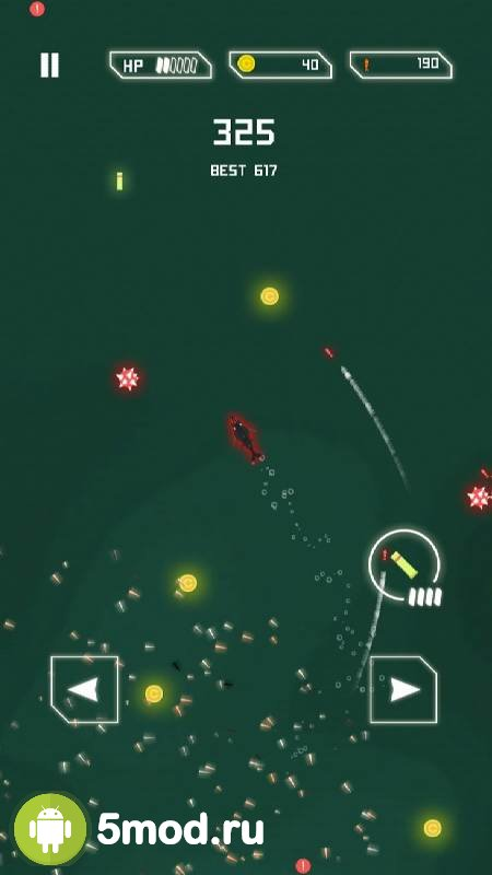Submarine: Under attack