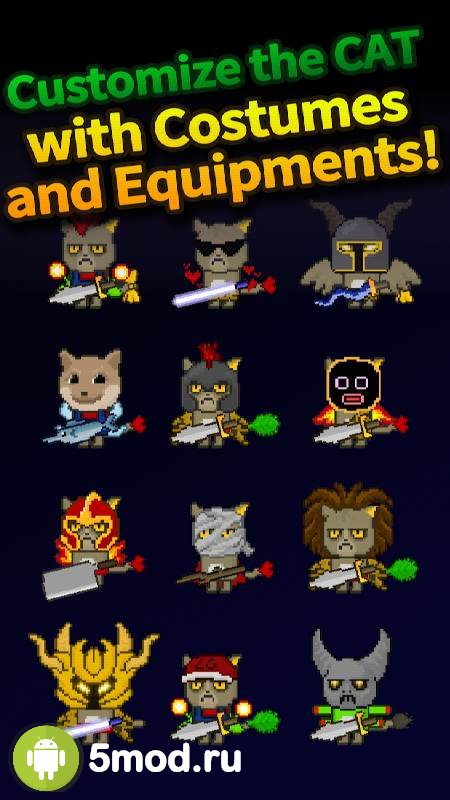 Cat Tower - Idle RPG