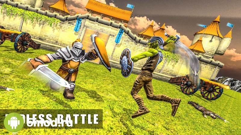 Castle Wall Defense: Fortress Fighting Hero
