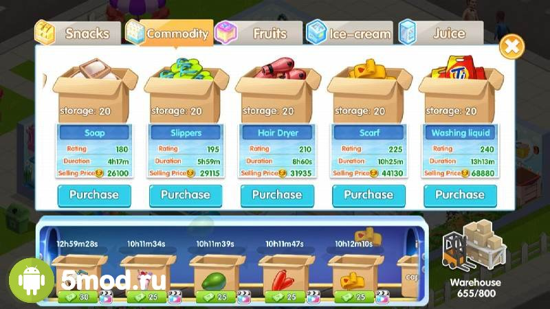 My Supermarket Story: Store tycoon Simulation
