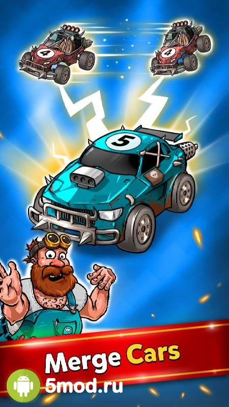 Merge Battle Car Tycoon