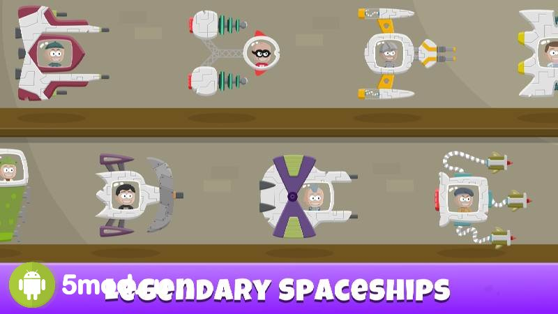 AFK Space Attack - Spaceman Working Crew