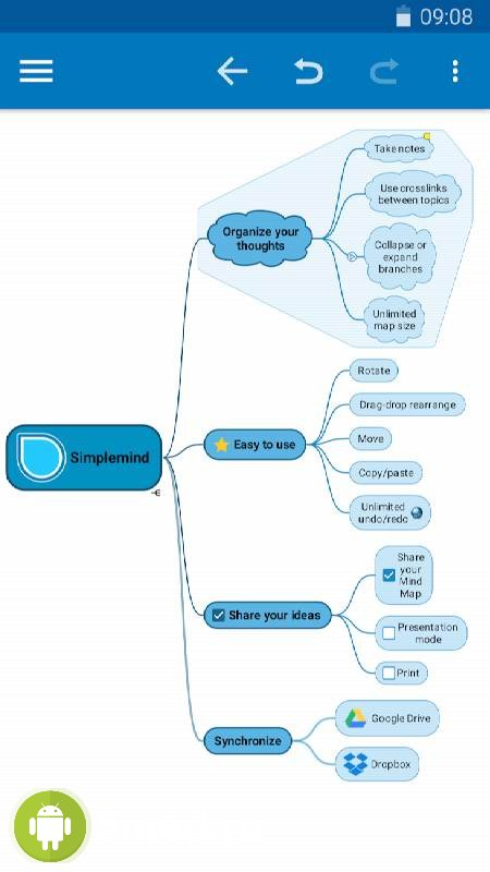 SimpleMind Pro - Intuitive Mind Mapping
