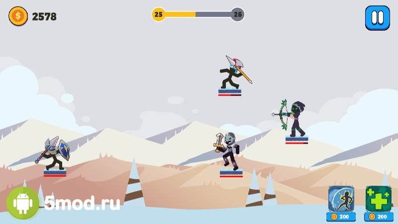 Stickman Archer Hero: Super Bow Legend Fight