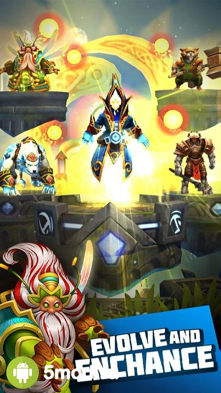 Etherlords Heroes and Dragons