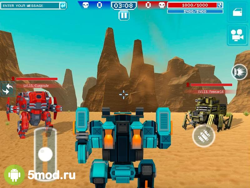 Blocky Cars - Online Shooting Game