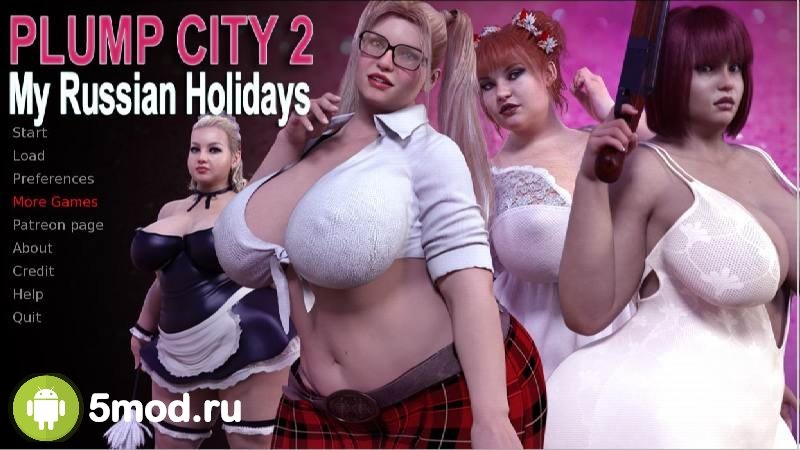 Plump City 2 - My Russian Holidays (18+)