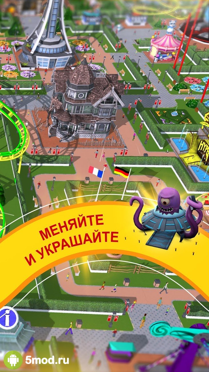 RollerCoaster Tycoon Touch - Build your Theme Park