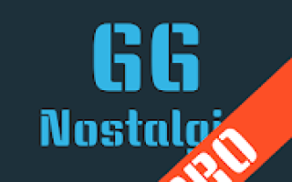 Nostalgia.GG Pro (GG Emulator) Mod APK 2020 for Android – new version