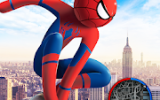 Spider Stickman Rope Hero 2 – Gangster Crime City Mod APK 2021 for Android – new version