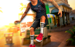 Nyjah Huston:#SkateLife-真正的滑板游戏Mod APK 2020 for Android-新版本